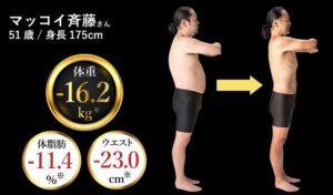 マッコイ斉藤 身長